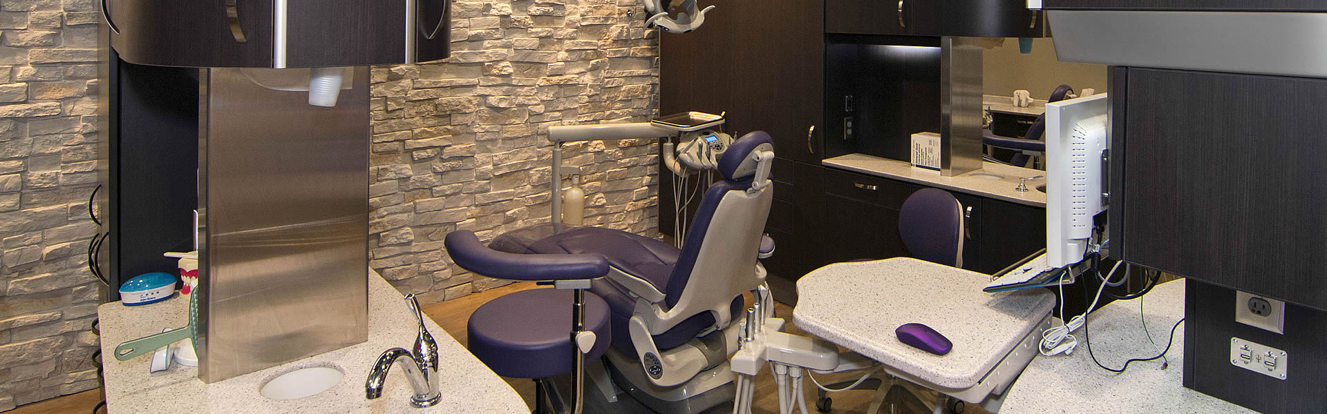 Westside dental centre's modern patient room in Kelowna BC